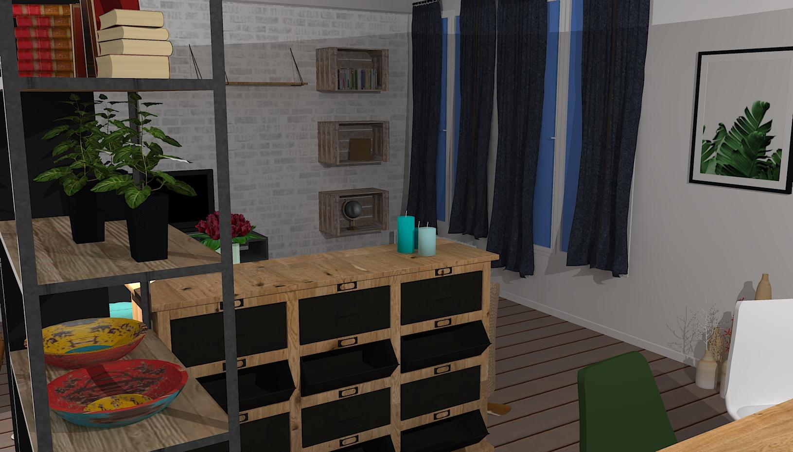 Projet Salon (vue 3)