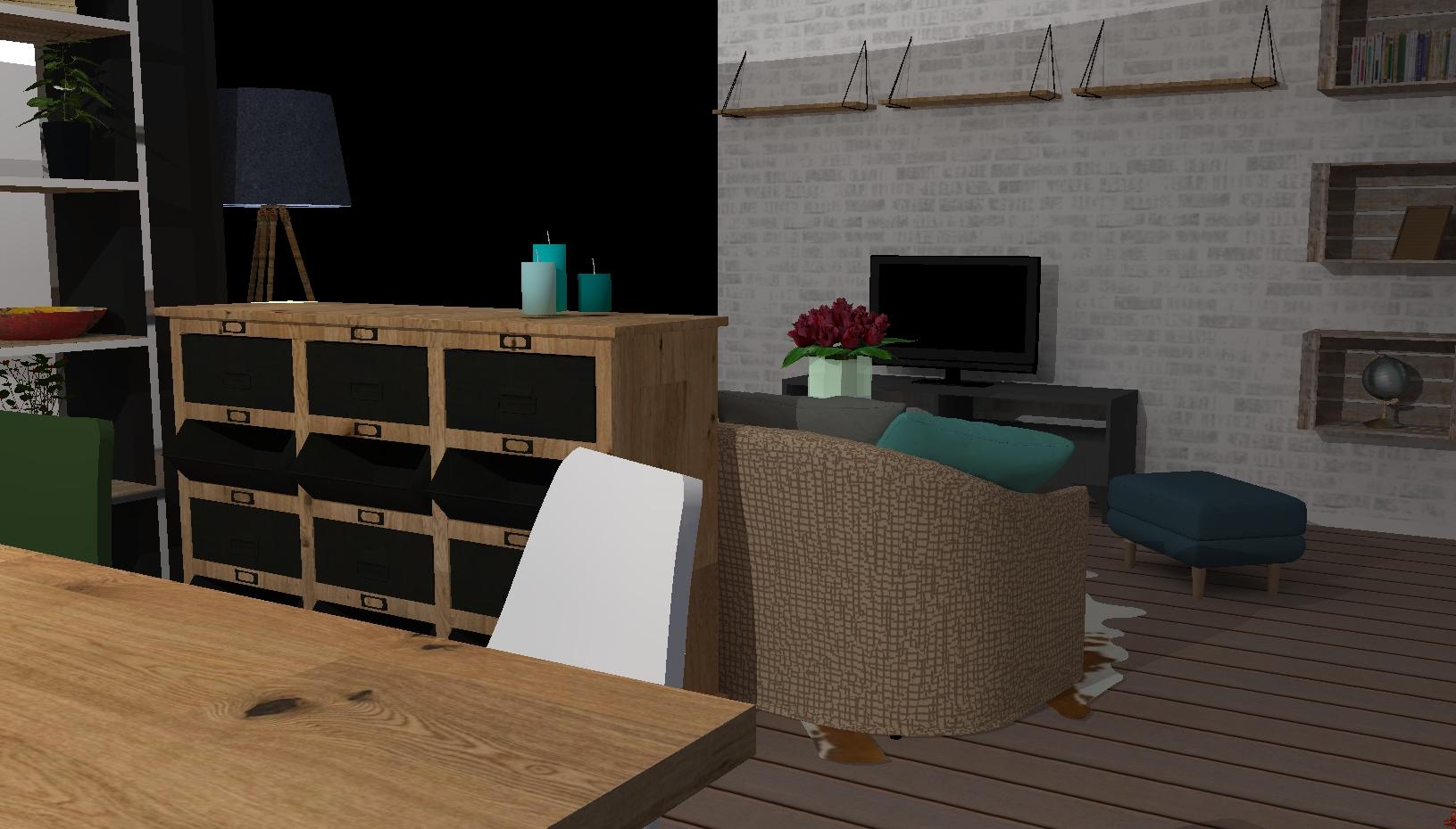 Projet Salon (vue 4)