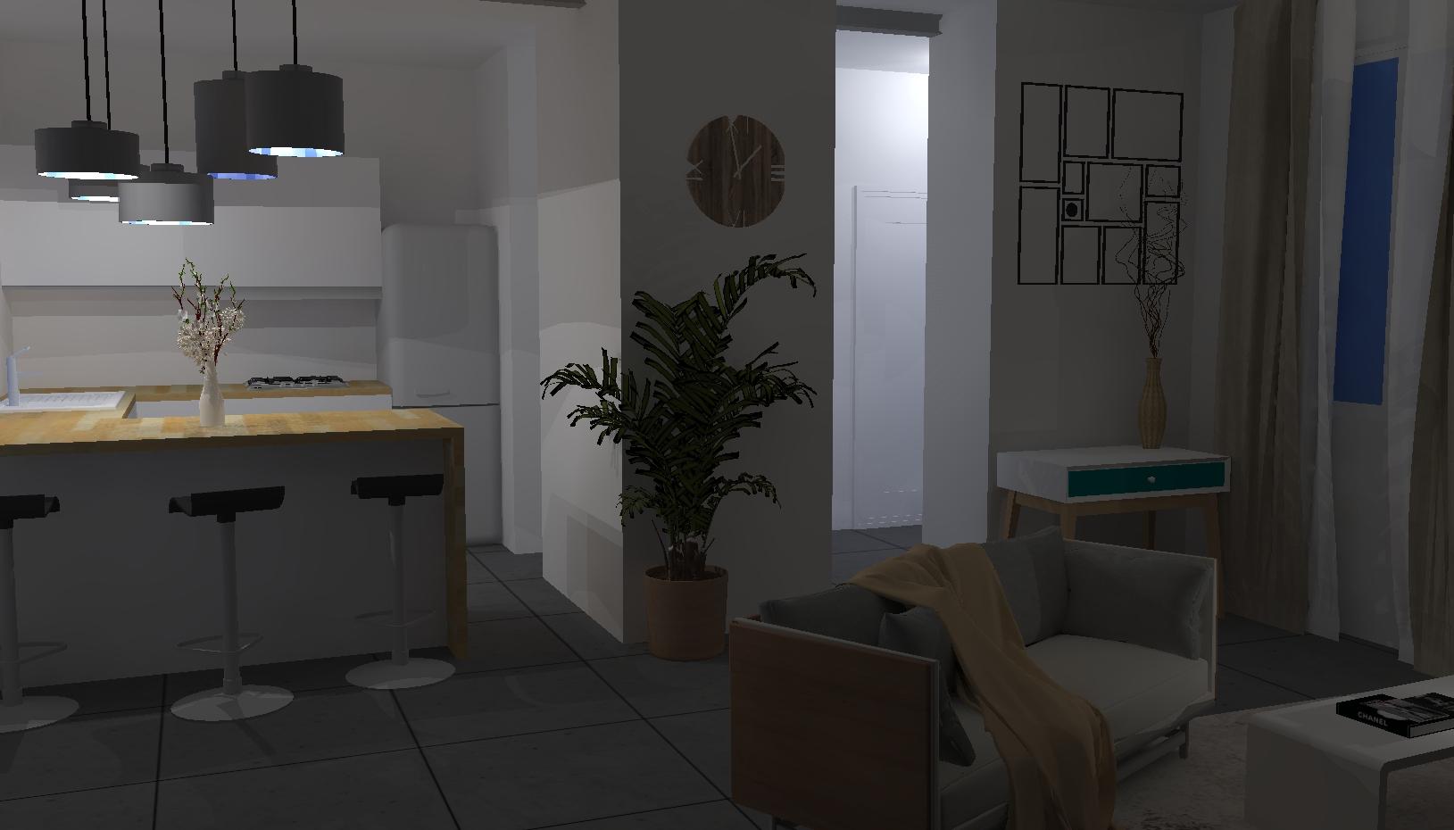 Projet Salon/Entrée