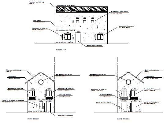 Plans façades